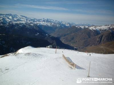 Esquí Baqueira; rutas la pedriza senderismo; equipo para senderismo